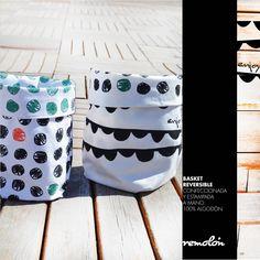 Basket estampados en serigrafía Organization, Decor, Getting Organized, Organisation, Decoration, Tejidos, Decorating, Deco