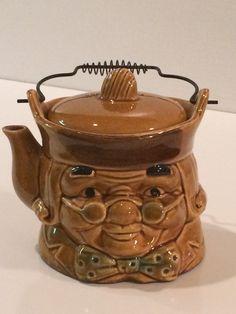 Benjamin Franklin Teapot by belladonnasattic on Etsy
