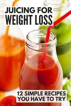 Replace one snack or meal a day with one of these delicious juicing recipes for weight loss and pave the way to a healthier, happier, slimmer you!