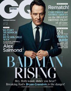 Bryan Cranston para GQ UK Junio 2014 por Norman Jean Roy | Male Fashion Trends