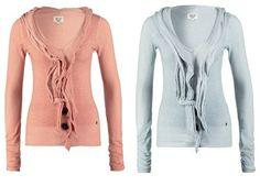 khujo Chaqueta De Punto Washed Lilac jerseis y sudaderas Washed punto Lilac Khujo Chaqueta Noe.Moda