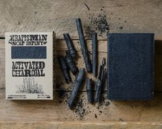 Activated Charcoal. Bamboo Charcoal Vegan Bar Soap. 100% All-Natural Handmade.