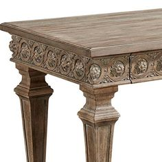 LANSDOWNE TIMBER CONSOLE Kitchen Arrangement, Entry Hall, Extra Storage, Morocco, Consoles, Interior, Table, Room, Furniture