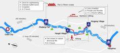 li river cruise map - Google Search