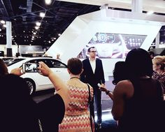 """Chevrolet giving us a private tour of the Miami International Auto Show. Getting a sneak peak of the """"Internet of Things"""" technology integrated in the 2016 CT6 by Cadillac. #ChevyPlayMiami #ilikethatcar #cadillac #miami #miamibeach #SheBuysCars #mia #305 #786 #southbeach #miamiautoshow #miamiinternationalautoshow #caddy #car #auto #ride #wheels #tires #bumpers #luxury #tech #technology #stylish #tech #internetofthings #speeddemon"""
