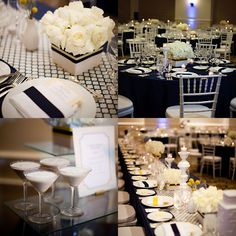 http://www.modwedding.com/2014/10/29/fun-modern-california-wedding-jasmine-star-photography/ #wedding #weddings #blue_wedding_reception