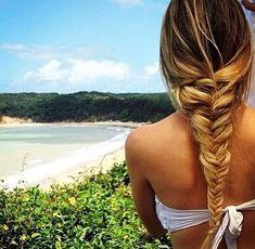 fishtail beach hair #springbreak #shopdailychic
