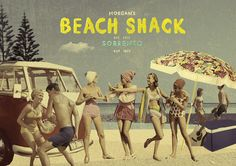 Beach Shack, Sorrento, Illustration, Movies, Movie Posters, Art, Beach Shade Canopy, Art Background, Beach Cabana