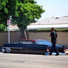 Nice Cars girl 2019 Kustom Kulture- I Live For This Shit : Photo Cadillac, Vintage Cars, Antique Cars, Cool Old Cars, Nice Cars, Girly Car, Old School Cars, Lead Sled, Weird Cars