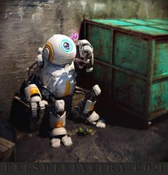 Little robot by Celso Teixeira celso