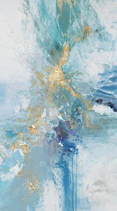 """Outstanding """"abstract art paintings acrylics"""" detail is readily available on our internet site. Marble Iphone Wallpaper, Wallpaper Backgrounds, Photo Bleu, Blue Abstract Painting, Art Mural, Art Art, Art Moderne, Jolie Photo, Pretty Wallpapers"""