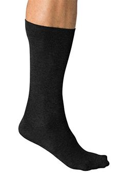 Kingsize Men's Lightweight Diabetic Dress Socks, Black 2Xl >>> To view further for this item, visit the image link.