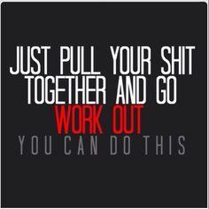 Wurd! Going on my wall! #JillianMichaels #T30motivation