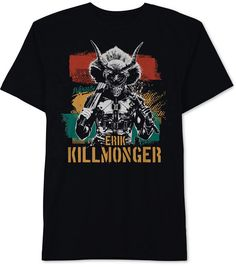 b43801e6e5b Hybrid Men s Kill Monger Graphic T-Shirt Erik Killmonger