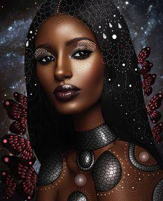 Meet the talented ethiopian artist, gelila mesfin; the queen of african dig Black Love Art, Black Girl Art, My Black Is Beautiful, Black Girl Magic, Art Girl, African Girl, African American Art, African Beauty, African Women