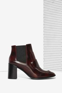 Jeffrey Campbell Bloke Box Leather Boot | Shop Shoes at Nasty Gal!