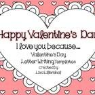 FREEBIE! I hope you enjoy this Valentine's Day activity! I have included both small and large heart-shaped letter templates, small and large blank hearts, an...
