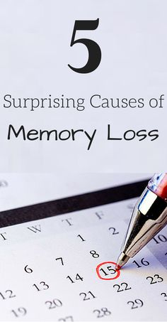 Surprising Causes of memory loss #mindcrowd #tgen #alzheimers www.mindcrowd.org
