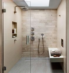 Phenomenal Bathroom Shower Tile Ideas, The tile ought to be installed around the shower space to make it stand out from different sections of the restroom. Phenomenal Bathroom Shower Tile I. Beige Tile Bathroom, Bathroom Spa, Bathroom Wall Decor, Small Bathroom, Bathroom Ideas, Bathroom Modern, Bathtub Ideas, Washroom, Contemporary Shower