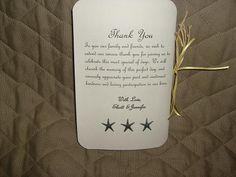 My DIY Beach Wedding Programs! :) :  wedding beach wedding programs ceremony diy white yellow Picture 02222