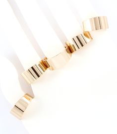 PWB3130 - Multi finger ring set