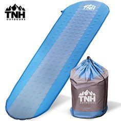 #1 Premium Self Inflating Sleeping Pad ? Lightweight Foam Padding and Superior Insulation ? Great For Hiking and Camping ? Construction and Thick Outer Skin ?  ? WE HAVE A MISSION - The outdoors is YOUR PLAYGROUND. So you NEED TO LOOK AFTER IT! Do you support sustainable practices and forward thinking innovation? The TNH mission is to CONTINUALLY INNOVATE products for heightened adventure, whilst empowering others to sustainably challenge our future. Rethink, Reduce & Reuse.  ? YOU WONT MISS…