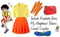 Satsuki casual cosplay