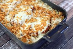 All-In-One Pork Chop and Hash Brown Potato Bake