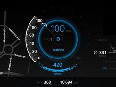 BMW Car Dashboard