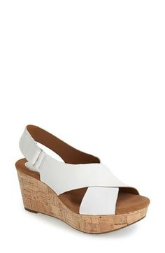 f50f2ac73c5 Clarks®  Caslynn Shae  Wedge Sandal (Women) available at