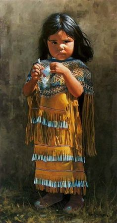 New Ideas Painting Indian Children Native Child, Native American Children, Native American Pictures, Native American Beauty, American Indian Art, Native American History, American Indians, American Symbols, Apache Indian