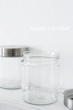 ★100円ガラスキャニスターをカッコイイNY風に |インテリアと暮らしのヒント