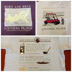 More Southern Proper graphic tees!