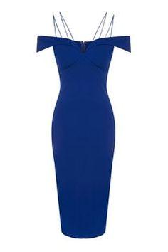 **Bardot Bodycon Midi Dress by Rare 76€
