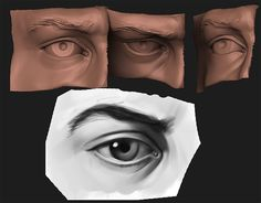 Anatomy Practice - Eye by HazardousArts.deviantart.com on @deviantART