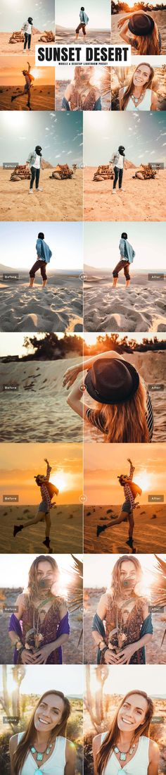 Sunset Desert Lightroom Preset will add an amazing warm glow and brightness with warmth and saturation tone into your photographs. Adobe Photoshop Lightroom, Lightroom Presets, Geometric Font, Camera Raw, Desert Sunset, Gaming Wallpapers, Photoshop Tutorial, Travel Photography, Wedding Photography