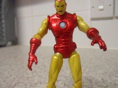 Marvel iron man #toybiz figure 2010 #comic book #style,  View more on the LINK: http://www.zeppy.io/product/gb/2/262560896939/