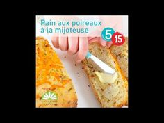 Pain aux poireaux, fromage et bacon à la mijoteuse - 5 ingredients 15 minutes Bacon, Make It Yourself, Food, Slow Cooker Bread, Cheese, Recipes, Essen, Meals, Yemek
