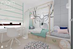 Sypialnia styl Skandynawski - zdjęcie od ROOM STUDIO - Sypialnia - Styl Skandynawski - ROOM STUDIO