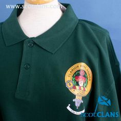 Buchanan Clan Crest Polo Shirt. Free worldwide shipping available
