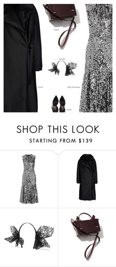 """NYE"" by amberelb ❤ liked on Polyvore featuring Dolce&Gabbana, Lanvin, yunotme and Chanel"