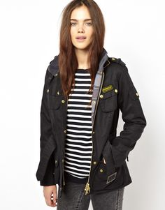 Barbour International Jacket. Someday.