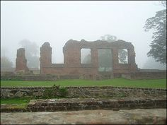 Ruins of the Grey Family home at Bradgate in Leicester.