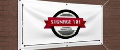 Standard Vinyl Banner Sizes Signage-How To Make Vinyl Banner Signs Mesh Banner, Pvc Banner, Wall Banner, Vinyl Banner Printing, Custom Vinyl Banners, Pole Banners, Display Banners, Custom Feather Flags, Standard Poster Size