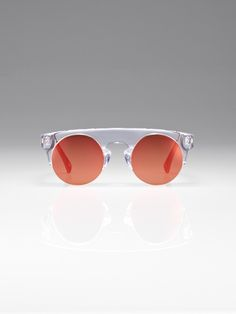 810555253443 Clear mirror Puyi sunglasses Shanghai Tang