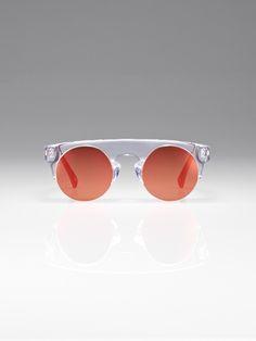 Clear mirror Puyi sunglasses Shanghai Tang