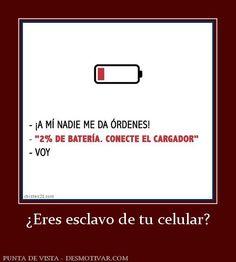 ¿Eres esclavo de tu celular?