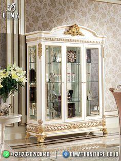 China Cabinet, Shabby, Mirror, Luxury, Storage, Furniture, Home Decor, Purse Storage, Decoration Home