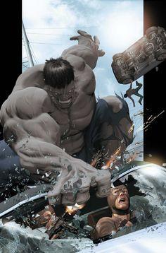 Grey Hulk by Kaare Andrews *