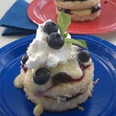 Blueberry Lemon Shortcake - Allrecipes.com